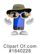 Cell Phone Clipart #1640228 by Steve Young