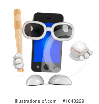 Baseball Clipart #1640229 by Steve Young