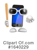 Cell Phone Clipart #1640229 by Steve Young