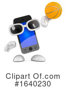 Cell Phone Clipart #1640230 by Steve Young