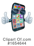 Cell Phone Clipart #1654644 by AtStockIllustration