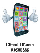 Cell Phone Clipart #1680889 by AtStockIllustration