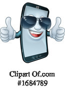 Cell Phone Clipart #1684789 by AtStockIllustration