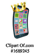 Cell Phone Clipart #1689245 by AtStockIllustration