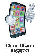Cell Phone Clipart #1698767 by AtStockIllustration
