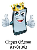 Cell Phone Clipart #1701043 by AtStockIllustration