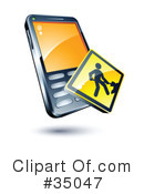 Cell Phone Clipart #35047