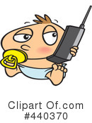 Cell Phone Clipart #440370 by toonaday