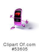Cell Phone Clipart #53605