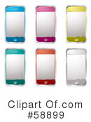 Cell Phone Clipart #58899