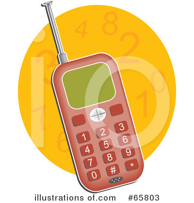 Cell Phone Clipart #65803 by Prawny