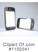 Cell Phones Clipart #1102041 by Mopic