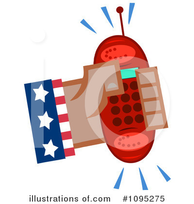 Cellphone Clipart #1095275 by Hit Toon