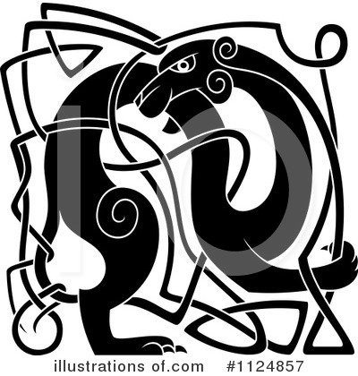 Royalty-Free (RF) Celtic Clipart Illustration by Vector Tradition SM - Stock Sample #1124857