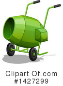 Cement Mixer Clipart #1427299 by Graphics RF