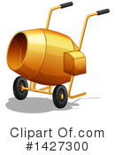Cement Mixer Clipart #1427300 by Graphics RF