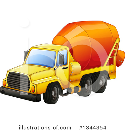 Heavy Machinery Clipart #1344354 by Graphics RF