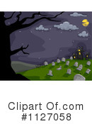 Royalty-Free (RF) Cemetery Clipart Illustration #1127058