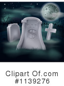 Royalty-Free (RF) cemetery Clipart Illustration #1139276