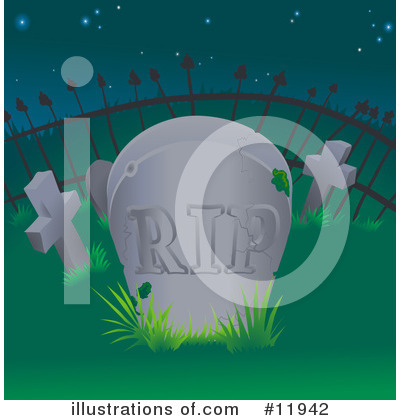 Funeral Clipart #11942 by AtStockIllustration