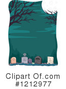 Cemetery Clipart #1212977 by BNP Design Studio