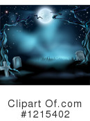 Cemetery Clipart #1215402 by AtStockIllustration