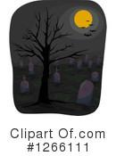 Cemetery Clipart #1266111 by BNP Design Studio