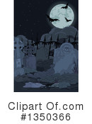 Royalty-Free (RF) Cemetery Clipart Illustration #1350366