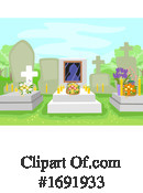 Cemetery Clipart #1691933 by BNP Design Studio