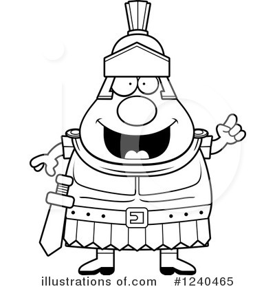 Centurion Clipart #1240465 by Cory Thoman