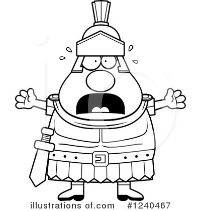 Centurion Clipart #1240467 by Cory Thoman