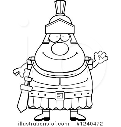 Centurion Clipart #1240472 by Cory Thoman