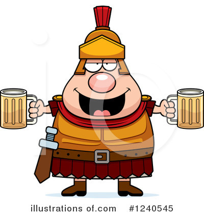 Centurion Clipart #1240545 by Cory Thoman