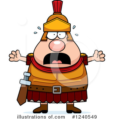 Centurion Clipart #1240549 by Cory Thoman