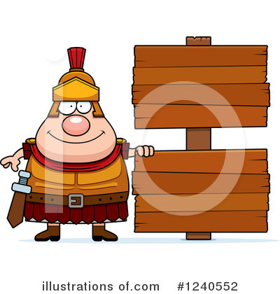 Centurion Clipart #1240552 by Cory Thoman