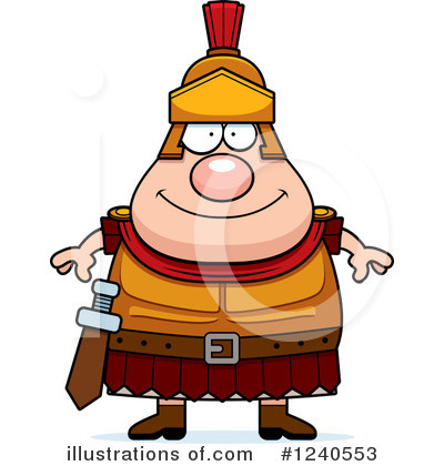 Centurion Clipart #1240553 by Cory Thoman