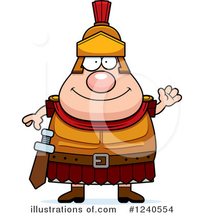Centurion Clipart #1240554 by Cory Thoman