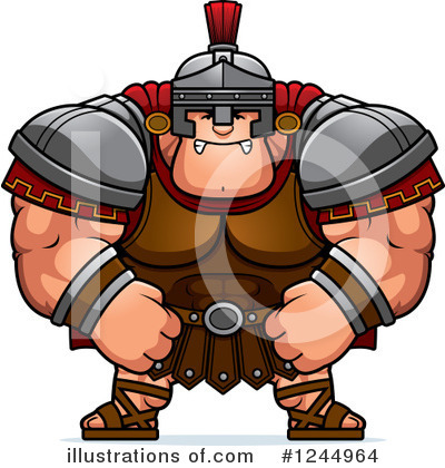 Centurion Clipart #1244964 by Cory Thoman