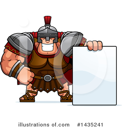 Centurion Clipart #1435241 by Cory Thoman