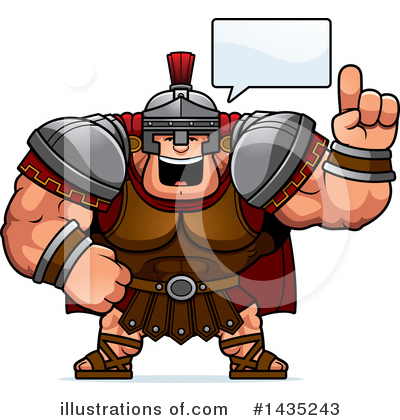 Centurion Clipart #1435243 by Cory Thoman