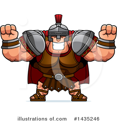 Centurion Clipart #1435246 by Cory Thoman