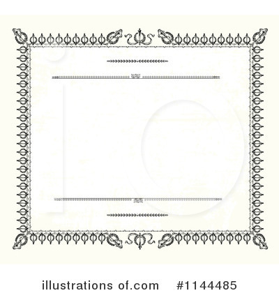 Certificate Clipart #1144485 by BestVector