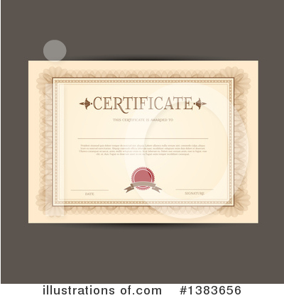 Certificate Clipart #1383656 by KJ Pargeter