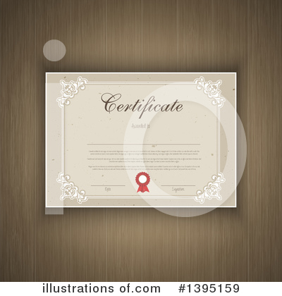 Certificate Clipart #1395159 by KJ Pargeter