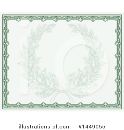 Wreath Clipart #1449055 by AtStockIllustration