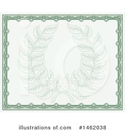 Wreath Clipart #1462038 by AtStockIllustration