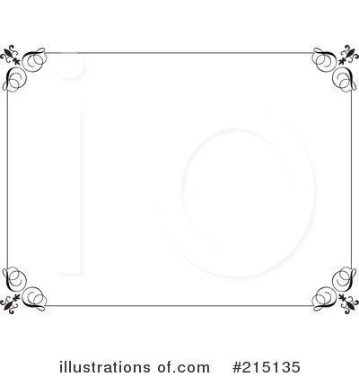 Royalty-Free (RF) Certificate Clipart Illustration by KJ Pargeter - Stock Sample #215135