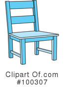 Wooden Chair Clipart 1