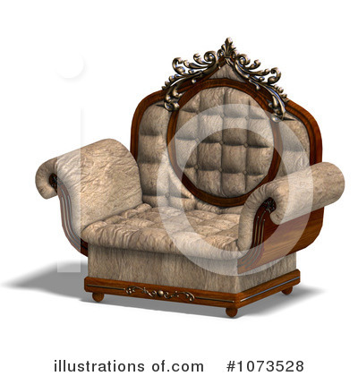 Chair Clipart #1073528 by Ralf61