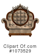 Royalty-Free (RF) Chair Clipart Illustration #1073529